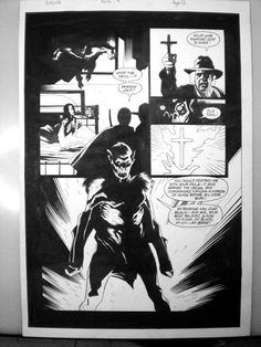 Mike Mignola: Dracula issue 4 page 12 Comic Art