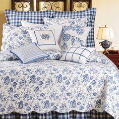 Williamsburg Devon Lake Full/Queen Quilt by WilliamsburgBedding: The Home Decorating Company