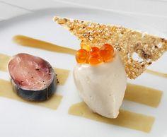 Molecular Gastronomy: Sardine on Toast Sorbet / Fat Duck (UK)