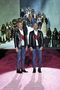 My favorite look from @Dsquared2