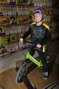 Super 16 with add-on front brake. Balance Bike, Striders, Front Brakes, Racing, Punk, Auto Racing, Lace, Punk Rock