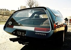 Before the Ferrari FF, there was another Ferrari Estate Wagon 1972 Ferrari 365 GTB& Shooting Brake Panel Truck, Shooting Brake, Ferrari F40, Car Manufacturers, All Cars, Car Humor, Station Wagon, Retro Cars, Automotive Design