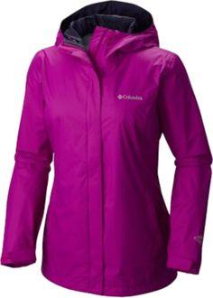Women's Arcadia II Rain Jacket-Bright Plum  Waterproof. Breathable. Guaranteed.