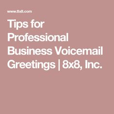 Fact having a professional voicemail greeting creates immediate fact having a professional voicemail greeting creates immediate credibility with your potential customers and will reflect your businesses high st m4hsunfo
