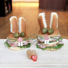 """""""Sandwich Monsters"""" or the creative sandwiches designed by art director Kaisa Haupt"""