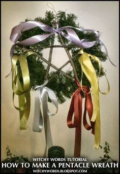 A few days ago, my husband discovered a wreath I'd bought on clearance after Yule for next year in the back of his car. When he brou...
