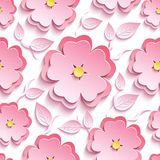 Abstract Floral 3d Seamless Pattern - Download From Over 53 Million High Quality Stock Photos, Images, Vectors. Sign up for FREE today. Image: 46013009