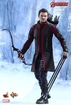 Hot Toy's Age Of UltronHawkeye Has Your Wallet In His Sights