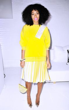 Color+Wars:+Solange's+25+Best+Outfits+Of+All+Time+via+@WhoWhatWear