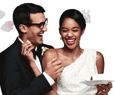 Check out the new Target Wedding Catalog - it's total eye-candy Interracial Family, Interracial Dating Sites, Interracial Wedding, Interracial Marriage, Mixed Couples, Cute Couples, Biracial Couples, African American Brides, Black Woman White Man