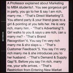 Best marketing explanation!
