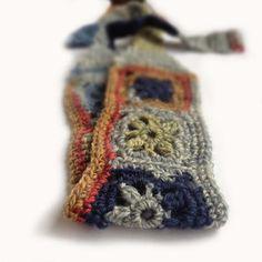 Crochet Headband Boho Knit Wool Hairband in by CatalinaInspired
