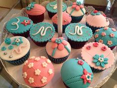 Cup cakes jardim das flores