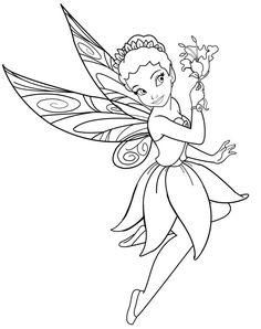 Disney Fairy Iridessa Lineart By MercuriusNekodeviantart On DeviantArt