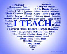 teacher graphic heart