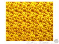 Splot Ścisły: Półsłupek Zwykły i Słupek Zwykły 2 / Textured Stitch: Double Crochet and Treble 2