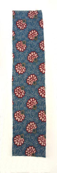 Textile, printed Cotton 1800-1900 Europe