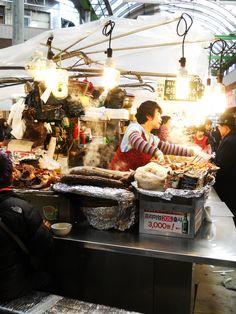Kwangjang Market, Seoul