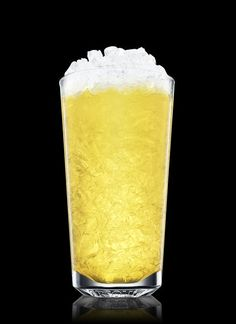 Absolut Yellow Fever - Fill a shaker with ice cubes. Add all ingredients. Shake and strain into a chilled highball glass filled with crushed ice. 2 Parts Absolut Mandrin, 1 Part Galliano, 1 Part Lemon Juice