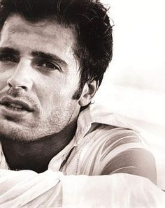 David Charvet, handsome actor, he was born in Lyon, France and made his acting debut on Baywatch in 1989.