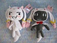 Lot Authentic Puella Magi Madoka Magica Kyubey Kuro Taito Plush UFO Catcher | eBay