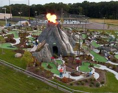 Miniature golf course design & construction by Cost of Wisconsin More