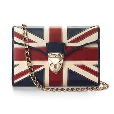 Brit Manhattan Clutch with Chain - Aspinal of London #AspinalLass