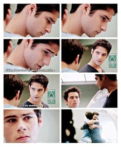 So emotional (and awesome) Scott cries and Stiles cries!!! Hurts (#TeenWolf #3x18 #Riddled)
