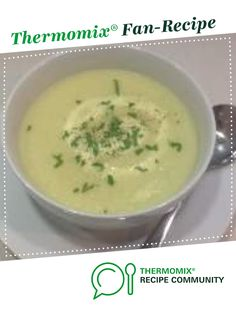 Cauliflower Soup by kgr. A Thermomix <sup>®</sup> recipe in the category Soups on www.recipecommunity.com.au, the Thermomix <sup>®</sup> Community.