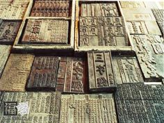 bi cheng created movable type printing (china, song dynasty)    #printing…