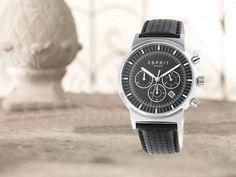 Esprit Woodward Blac muški sat - novi model