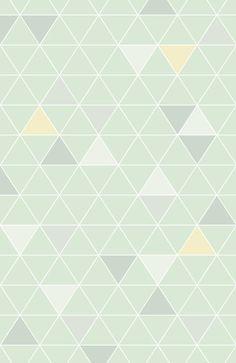 Fond triangles mint