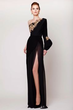 5dbd9aeab85 Azzi  amp  Osta Spring Summer 2015 Haute Couture Collection Runway Fashion