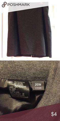 Grey Knit Skirt. Sz 20W. Grey Knit Skirt. Sz 20W. Skirts