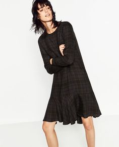 Image 5 of LONG SLEEVE DRESS from Zara