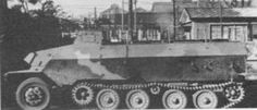 The Type 1 Ho-Ha (一式半装軌装甲兵車 ホ) was a half-track armoured personnel carrier (APC) based on the German Sd.Kfz. 251/1, and was used in limited numbers by the IJA in ww2. The Type 1 Ho-Ha was initially deployed to China for operations in the ongoing Second Sino-Japanese War, but were never in any great numbers. It was later deployed with the Japanese reinforcements in the Battle of the Philippines in 1944.