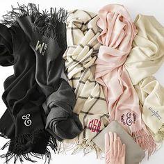 Blanket Scarf, Plaid #makeyourmark