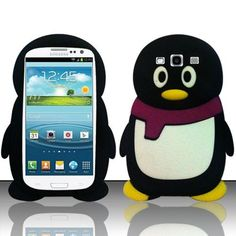 Does anyone love Penguin? Do you want get Black Yellow Leg Penguin Silicone Cover for your Samsung S3 i9300? If so, Click here!