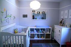 """Cute modern nursery by """"lealou momma"""""""