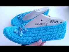 Babetpatik yıldızpatik # # # # patikmodel of booties - patik Crochet Slipper Pattern, Crochet Slippers, Crochet Patterns, Knitting Socks, Baby Knitting, Crochet Baby, Orange Heeled Sandals, Baby Booties, Baby Shoes
