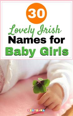 Check out this list of the top Irish girl names! Includes popular and rare names like Bebhin, Catriona. Irish Baby Girl Names Celtic Baby Names, Irish Baby Girl Names, Girl Names With Meaning, Baby Names And Meanings, Irish Girls, Popular Baby Names, Unique Baby Names, Rare Names, Bebe