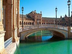 "SEVILLE-This ""charming town"" is ""a must-see for Spain visitors,"" featuring ""fascinating buildings and history,"" ""amazing restaurants and tapas places."""