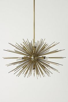 Astra Chandelier #anthropologie. my dining room light but in silver....LOVE it....