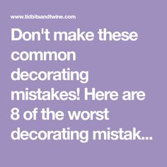 Don't make these common decorating mistakes! Here are 8 of the worst decorating mistakes and how you can fix them with tons of info and examples. Blue Home Decor, Overhead Lighting, House Inside, Faux Plants, Hanging Curtains, Blue Accents, Guest Bath, Apartment Living, Decorating Tips