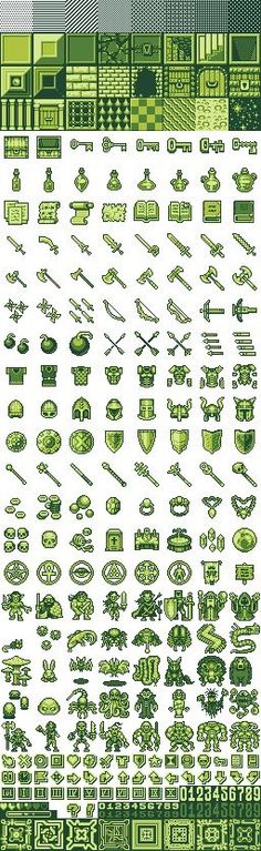 thinking of usng old sprites to give portfolio an old school feel Game Design, Ui Design, Dota Tattoo, How To Pixel Art, Intranet Design, Piskel Art, Level Design, Arte 8 Bits, Pixel Characters