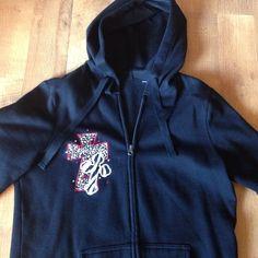 Cross jacket Red, black and white cross lightweight jacket Jackets & Coats