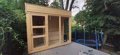 Diy Sauna, Indoor Outdoor, Cube, Inside Outside