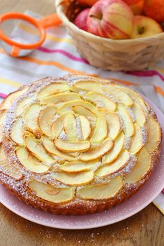Torta soffice al cuore di mela - ricetta facile - Cucina italiana - Oreo Biscuit Cake, Oreo Biscuits, Pastry Recipes, Cake Recipes, Dessert Recipes, Cooking Recipes, Apple Recipes, Sweet Recipes, Biscotti