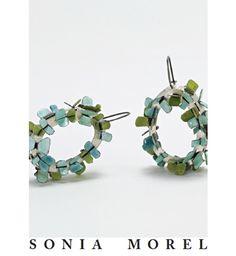 Sonia Morel, Earrings,