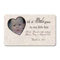 Thank You Special Day Magnet By Patricia W Rectangular